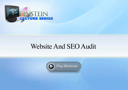 SEO Audit Webinar